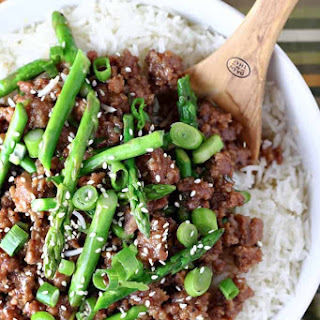 Sweet and Spicy Pork and Asparagus Recipe