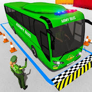 Army Bus Parking Game – Army Bus Driving Simulator