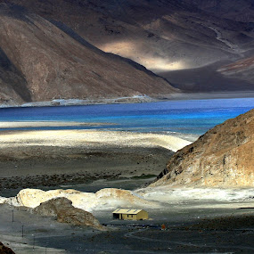 Pangon Lake - Ladakh , India  by Sourav Tripathi - Landscapes Mountains & Hills