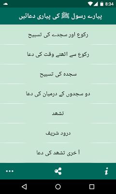 Pyare Rasool ki Pyari Duain - screenshot
