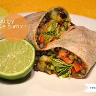 Healthy Veggie Burritos.
