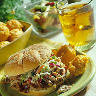 North Carolina Pulled Pork BBQ Sandwiches.
