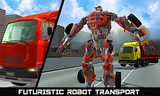Car Robot Transport Truck- screenshot thumbnail