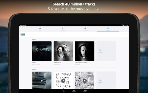 Deezer: Music & Song Streaming- screenshot thumbnail