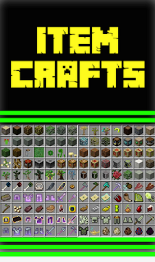CRAFT ALL ITEMS