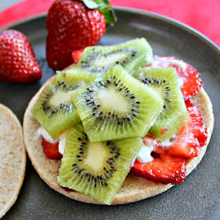 Easy Strawberry Kiwi Weight Watchers Dessert.
