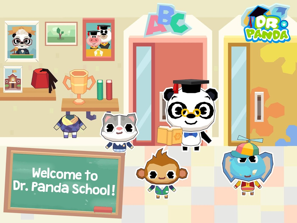 Dr. Panda School- screenshot