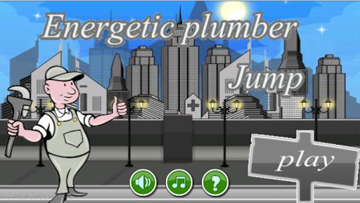 Energetic Plumber Jump