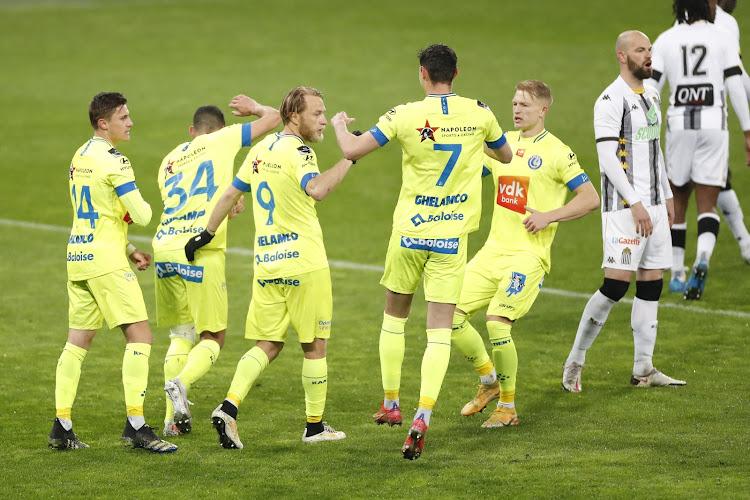 C'est fini pour Charleroi, l'espoir renaît pour les Gantois!