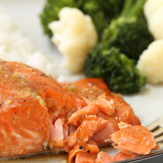 Orange Teriyaki GlazedSalmon