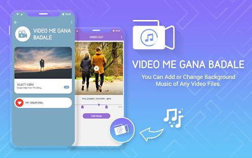 Video Me Gaana Badale : Change Song In Video for PC