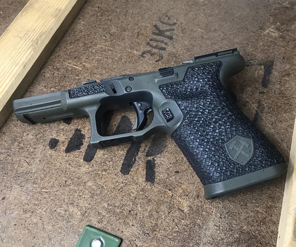 custom glock frame single undercut