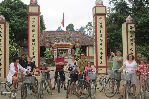 Biking Hoi An Danang Hue - the heritage trail