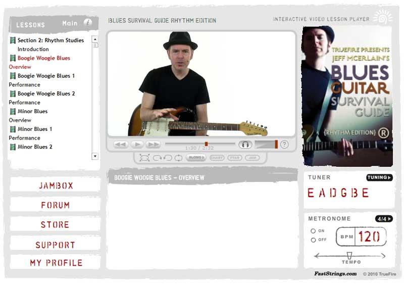 Jeff Mcerlain - Blues Guitar Survival Guide (Rhythm Edition)