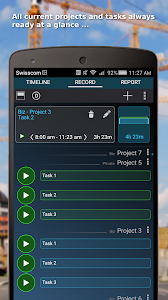 Time Tracker - Timesheet screenshot 0