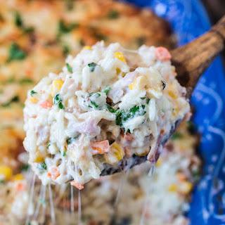 Brazilian Creamy Rice Casserole