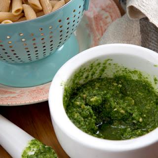 Easy Pasta with Coriander Pesto Recipe