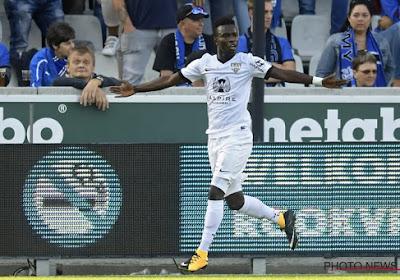 """Diagne se concentre sur Eupen : """"On ne regarde pas les joueurs de Courtrai"""""""