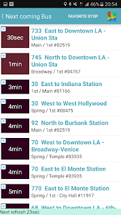 Los Angeles Metro and Bus Tracker - náhled