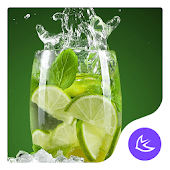 Lime-APUS Launcher theme