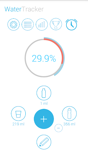 water tracker pro screenshot 1