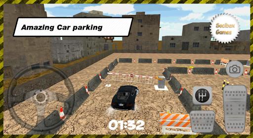 玩免費模擬APP|下載3D市高級車の駐車場 app不用錢|硬是要APP