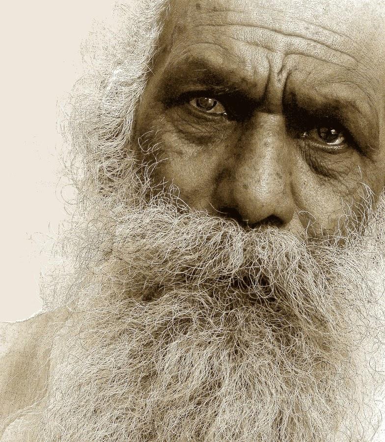 PHILOSOPHER by DrBk Guha - People Portraits of Men