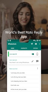 WhatsAuto – Auto Reply App 1