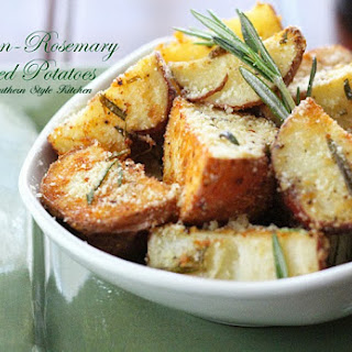 Parmesan Rosemary Roasted Potatoes