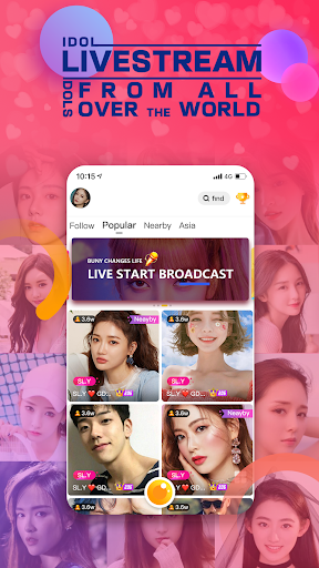 Bunny Live - Live Stream & Video chat 2.4.0 screenshots 4
