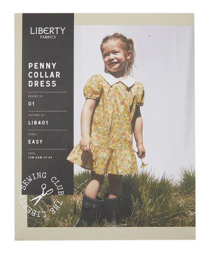 Penny Collar Dress från Liberty