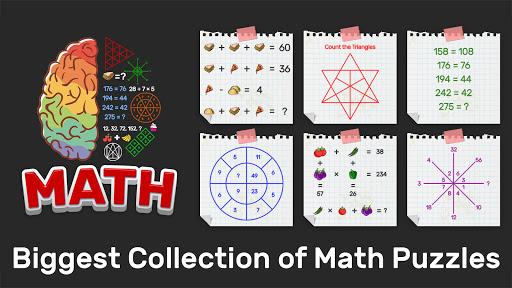 Brain Math: Tricky Math Puzzles Riddles Math games 2.2 screenshots 1