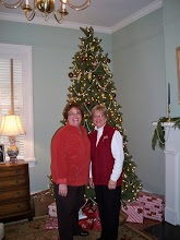 Photo: 2010 December 5 Perkins Adams House (The Stockton House) 307 North Wall Street Home of Margaret Perkins & Rene Adams (pictured)