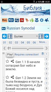 Bible in Russian +English +Spanish Offline - náhled