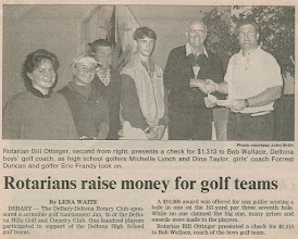 Photo: A Photo From The Past - Bill Ottinger - Golf Tournament - John Brim took the photograph which appeared in the Sunday, February 9, 1992 edition of The Volusian newspaper