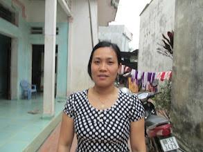 """Photo: """"Ms.Nguyễn Thị Thường 1. Số hiệu(ID member): 15042013 2. Tuổi(Age): 3. Địa chỉ(Address): Cụm 30 - Thôn Liên Bình - TT Hợp Hòa,Tam Duong District, Vinh Phuc province, Vietnam. 4. Thông tin gia đình(Household's information): Gia đình có 06 khẩu, 03 lao động chính. Gia đình TV cho thuê đồ đám cưới, bán hàng, chăn nuôi (Member's family has 06 people, 03 main labors. Member's family rents wedding supplies, sells grocery and breeds animals) 5. Ngày vay(Date of loan): 9/4/15 6. Mức vay(Loan size): 8.000.000đ 7. Mục đích vay(Loan purpose): small trade"""""""