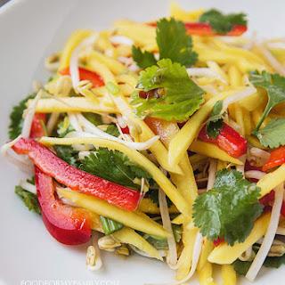 Thai Green Mango Salad.