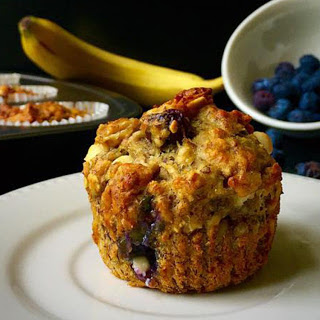 Blueberry and White Chocolate Muffins [Vegan] Recipe