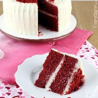 The Very Best Red Velvet Cake.