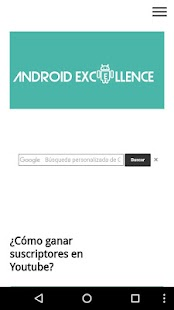 Blog Android Excellence- screenshot thumbnail