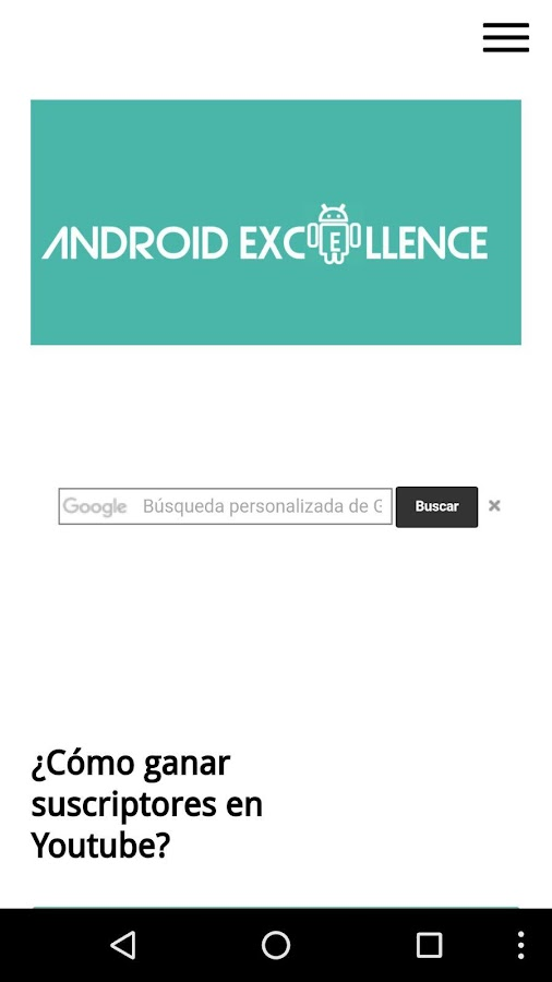 Blog Android Excellence- screenshot