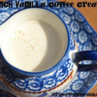 French Vanilla Coffee Creamer