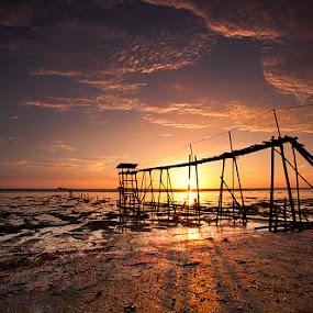 Sunset by Min Hew - Landscapes Sunsets & Sunrises