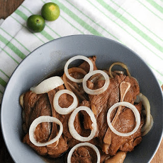Pork Bistek Tagalog (Filipino-Style Pork Steak)