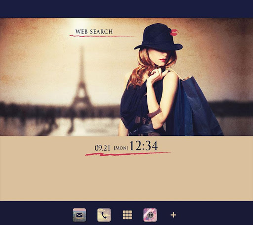 Parisian-Stylish Theme 1.0.0 Windows u7528 1