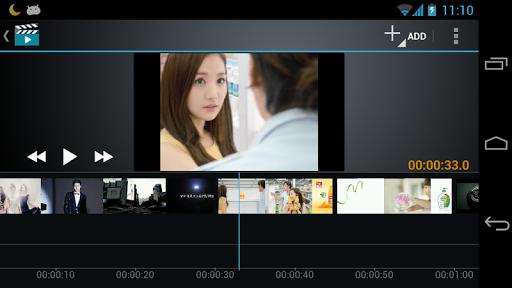 صانع الفيلم محرر الفيديو screenshot 4