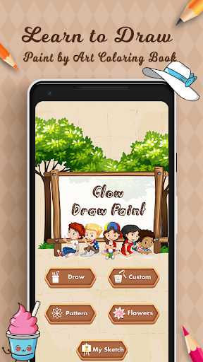 Learn to Draw - Paint by Art Coloring Book 19.0 screenshots 1