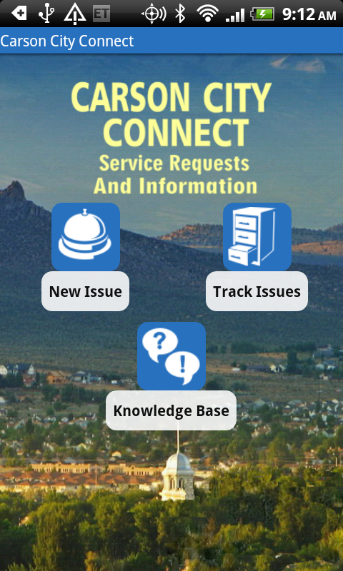 Carson City Connect- screenshot