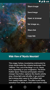 Hubble Gallery- screenshot thumbnail