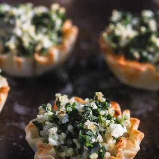 Spinach Phyllo Dough Appetizers Recipes